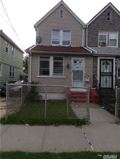 Jamaica NY Single Family Home For Sale: $319,900