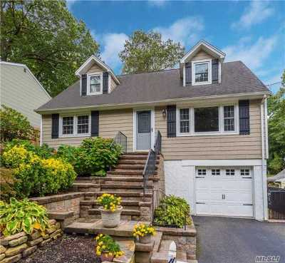 Huntington Single Family Home For Sale: 47 Soundview Rd