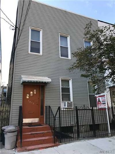 Ridgewood Multi Family Home For Sale: 18-17 Greene Ave.