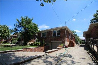 Flushing Single Family Home For Sale: 43-29 172 St