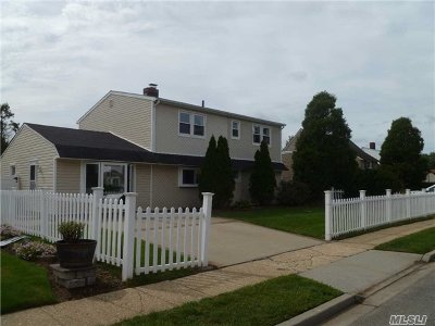 Hicksville Single Family Home For Sale: 12 Straw Ln