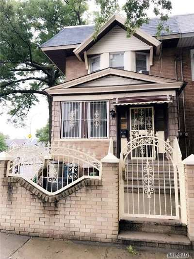 Woodhaven Single Family Home For Sale: 91-66 96th St