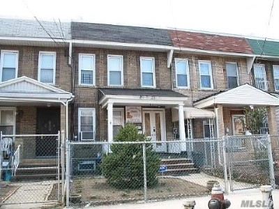 Woodhaven Multi Family Home For Sale: 84-12 91 Ave