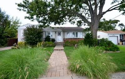 Hicksville Single Family Home For Sale: 41 Wellesley Ln