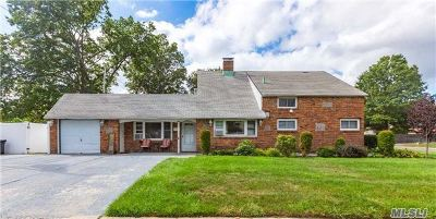 Levittown Single Family Home For Sale: 15 Laurel Ln