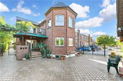Rego Park Single Family Home For Sale: 63-21 Alderton St