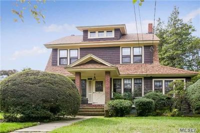 Rockville Centre Single Family Home For Sale: 464 Lakeview Ave