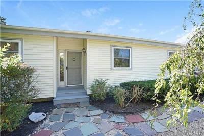 Hampton Bays Single Family Home For Sale: 19 B Gardners Ln