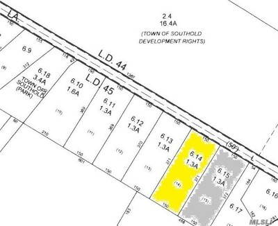 Cutchogue Residential Lots & Land For Sale: 5675 Bridge Ln