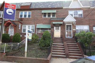 Elmhurst Single Family Home For Sale: 53-42 80 St