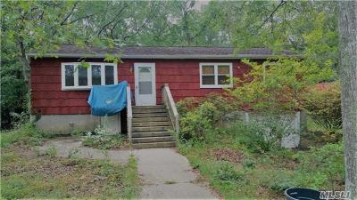 Coram Single Family Home For Sale: 62 Norfleet Ln