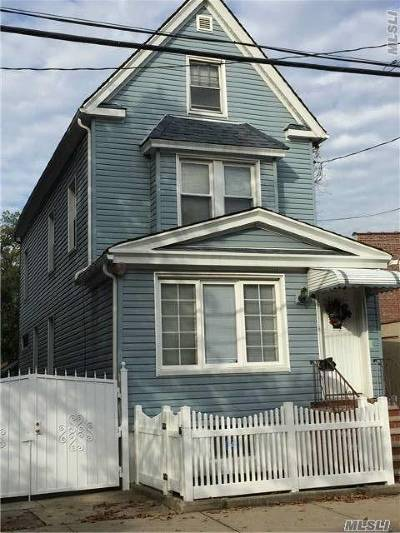 Queens County Single Family Home For Sale: 78-10 81st St