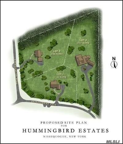 Nissequogue Single Family Home For Sale: 32 Branglebrink Rd