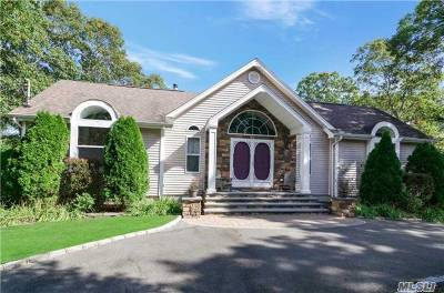 Hampton Bays Single Family Home For Sale: 153 W Tiana Rd