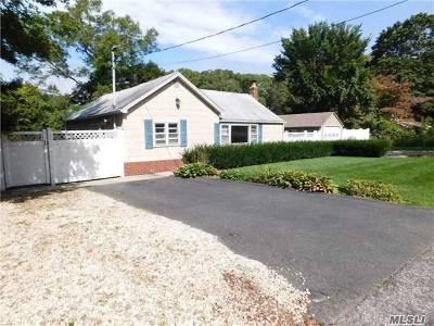 Sound Beach Single Family Home For Sale: 27 Floyd Bennett Dr