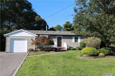Bohemia Single Family Home For Sale: 27 Nathan Dr