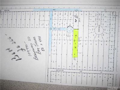 Bay Shore Residential Lots & Land For Sale: 1137 Joselson Ave