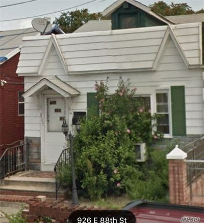 Brooklyn Single Family Home For Sale: 925 E 88th St