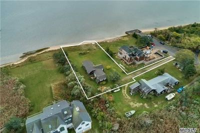 East Moriches Single Family Home For Sale: 79 Moriches Island Rd