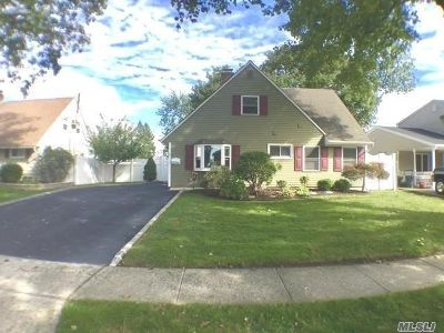 Levittown Single Family Home For Sale: 7 Chickadee Ln