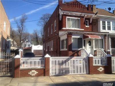 Woodhaven Single Family Home For Sale: 85-25 96th St
