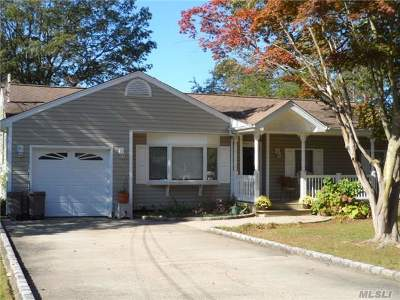 Ronkonkoma Single Family Home For Sale: 2230 First Ave