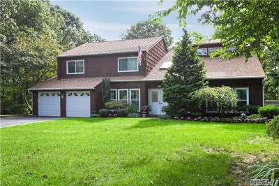 Holtsville Single Family Home For Sale: 21 Woodbrook Cir
