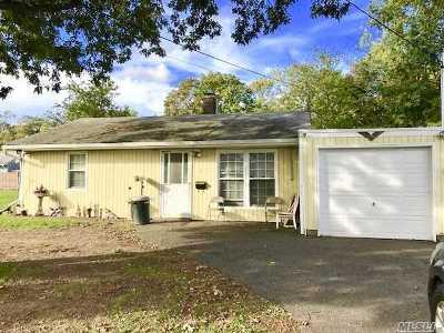 Bay Shore Single Family Home For Sale: 1 W Bay Shore Rd