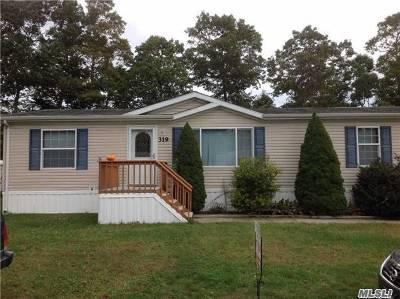 Calverton Single Family Home For Sale: 638-319 Fresh Pond Ave