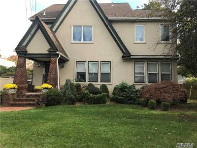 Cedarhurst Single Family Home For Sale: 338 Leroy Ave