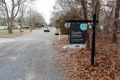 Hampton Bays Residential Lots & Land For Sale: 21 N Westbury Rd