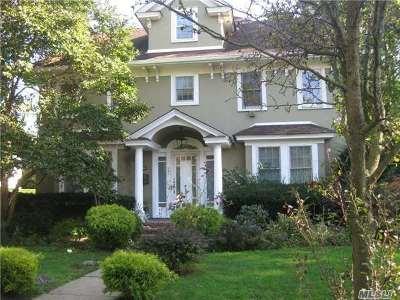 Cedarhurst Single Family Home For Sale: 383 Oak Ave