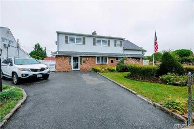 Levittown Single Family Home For Sale: 35 Meander Ln