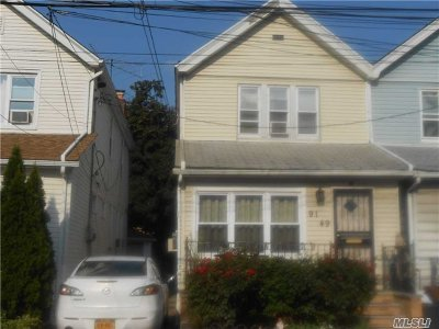 Woodhaven Single Family Home For Sale: 91-49 84th St