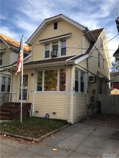 Woodhaven Single Family Home For Sale: 96-14 91st Ave