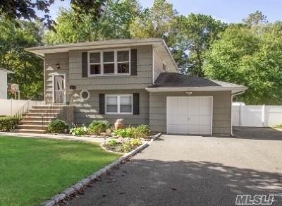Hauppauge Single Family Home For Sale: 24 Fairview Pl