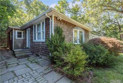 Sag Harbor Single Family Home For Sale: 170 Hampton St