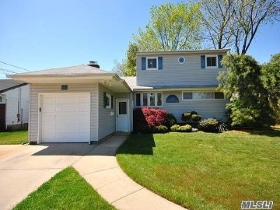 Massapequa Park NY Single Family Home For Sale: $515,000