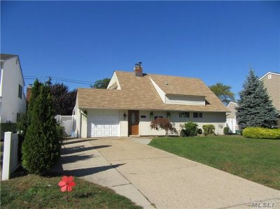 Farmingdale, Hicksville, Levittown, Massapequa, Massapequa Park, N. Massapequa, Plainview, Syosset, Westbury Single Family Home For Sale: 18 Pilgrim Ln