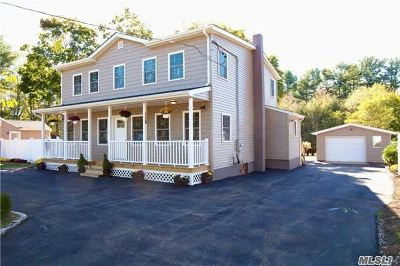 Middle Island Single Family Home For Sale: 34 Yaphank Middle I Rd