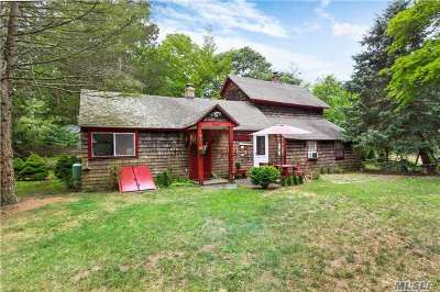 East Hampton Single Family Home For Sale: 351 Old Stone Hwy