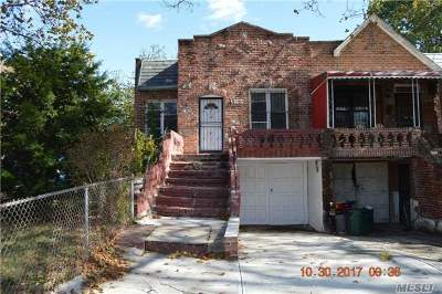Brooklyn Single Family Home For Sale: 703 Schenectady Ave