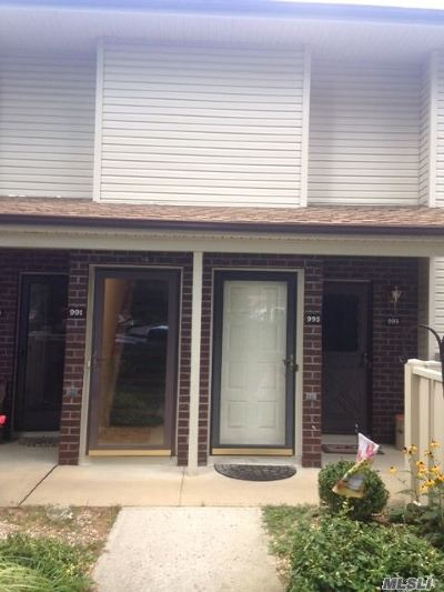Coram Condo/Townhouse For Sale: 995 Skyline Dr #995