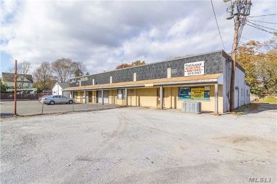 Patchogue Commercial For Sale: 65-71 Sycamore St