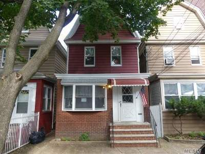 Woodhaven Single Family Home For Sale: 86-33 90th St