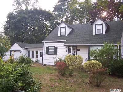 Centereach Single Family Home For Sale: 24 Gould Rd