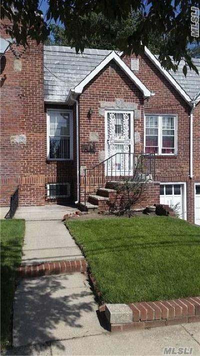 Jamaica Single Family Home For Sale: 119-33 180th St