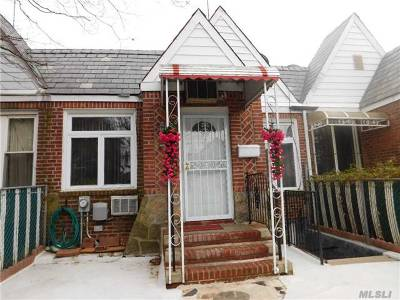 Rego Park Single Family Home For Sale: 63-98 Alderton St