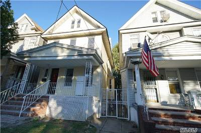 Woodhaven Single Family Home For Sale: 85-55 76 St