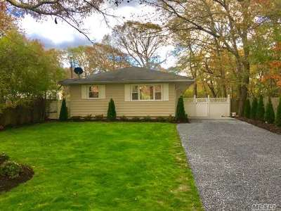 Coram Single Family Home For Sale: 38 Beach Ln